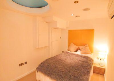 Bedroom at 3d Bedfordbury, Covent Garden WC2N 4BP