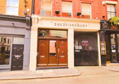 Front of 3d Bedfordbury, Covent Garden WC2N 4BP