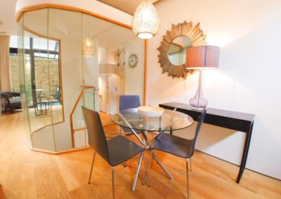 Dining Room at 3d Bedfordbury, Covent Garden WC2N 4BP