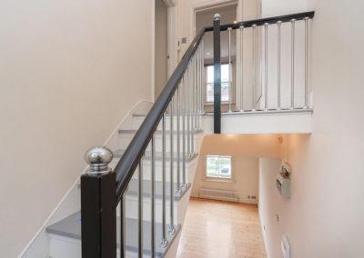 Duplex staircase at 37 Bramley Road, W10 6SZ